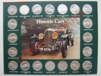 """Набор 20 жетонов """"Автомобили 1886-1970"""" до 30.10.13, 22-00 - Набор жетонов-1.JPG"""