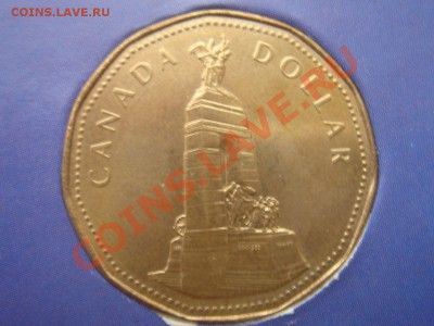 Канада: 1$ 1994 Мемориал UNC до 30.09.13 22-00 - Канада доллар мемориал -1.JPG