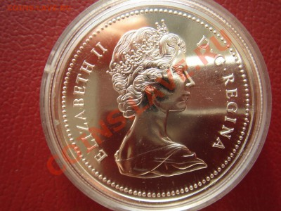 Канада: Ag-500 1$ 1975 UNC Калгари в капсуле до 30.09 22 - Канада доллар Калгари-2.JPG