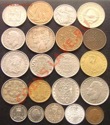 42 разные монеты (смотрите фото и описание). До 26.09_22.18м - 6480