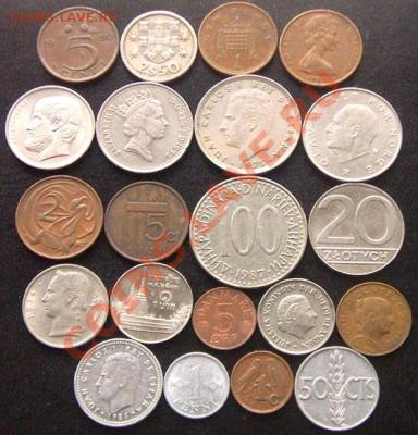42 разные монеты (смотрите фото и описание). До 26.09_22.18м - 6481