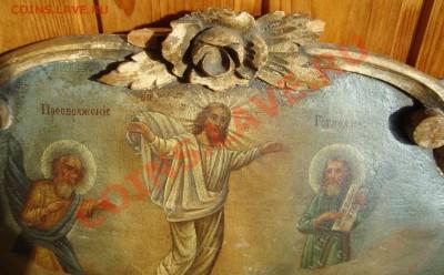 2 иконы: Преображение Господне и Спас Вседержитель - 3-2