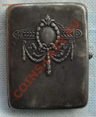 Серебряный портсигар 1936 года вручения - 9-1