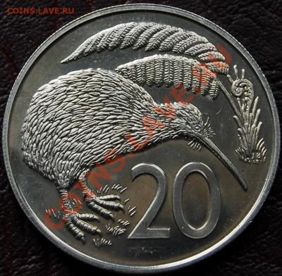 НОВАЯ ЗЕЛАНДИЯ - 20 центов 1967 - Киви - до 2 октября - 301