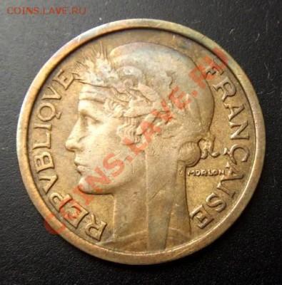 ФРАНЦИЯ 1 франк (1932) до 01.10 (22.00) - Франция 1 франк (1932) №1 А