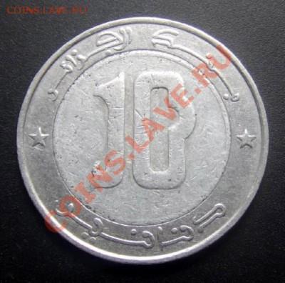 АЛЖИР 10 динар (2002) Сокол до 01.10 (22.00) - Алжир 10 динар (2002) Сокол Р