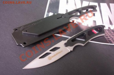 Нож Smith & Wesson до 2.10.2013 - Smith-Wesson-SW990-Sentinel-Hunting-knife-Outdoor-Pocket-Knives-ABS-scabbard-420J2-s-s-Free-Shipping