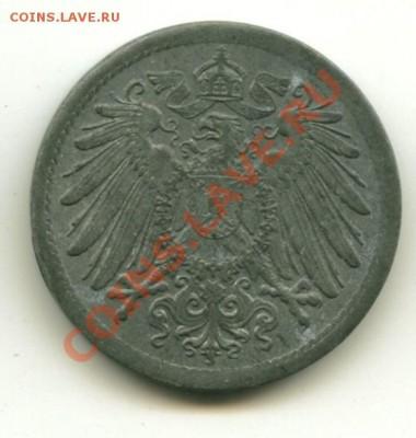 10 пфеннингов Германия цинк до 01.10.2013 22-00мск - герм10................