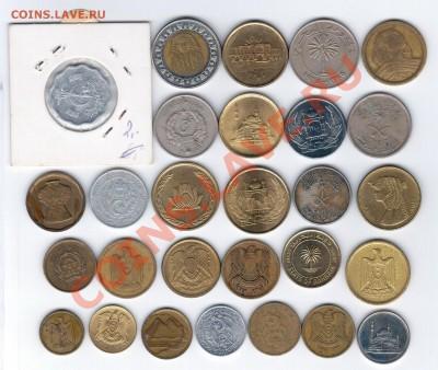 28 разных монет арабских стран до 03.10.2013 г. 21:00 мск - арабы 2