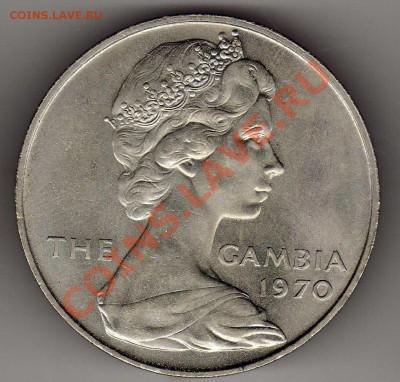 ГАМБИЯ 8 ШИЛЛИНГОВ 1970 БЕГЕМОТ 03.10.13 В 22.00МСК (6363) - img224