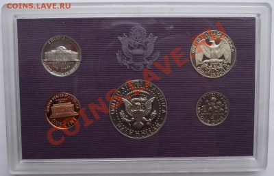 Набор монет США.1987,пруф до 1.10 в 21.00мск - 15а.JPG