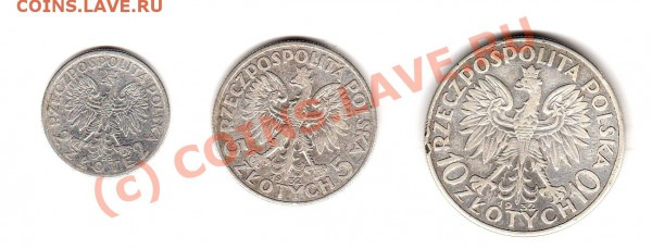 монеты 1-й Польской Республики 1923-1939 г.г. - img865