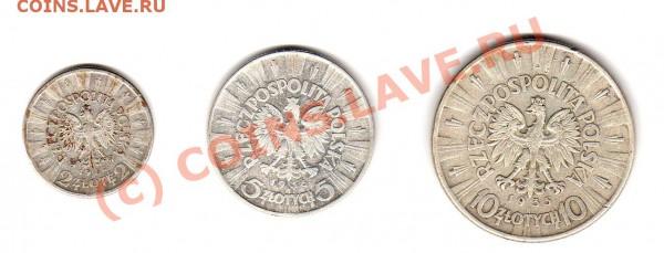 монеты 1-й Польской Республики 1923-1939 г.г. - img867