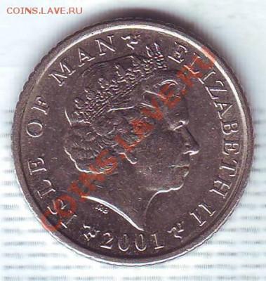 О.Мэн.5 Пенсов.2001.Кельтский крест. до 5 Октября - 20010024.JPG