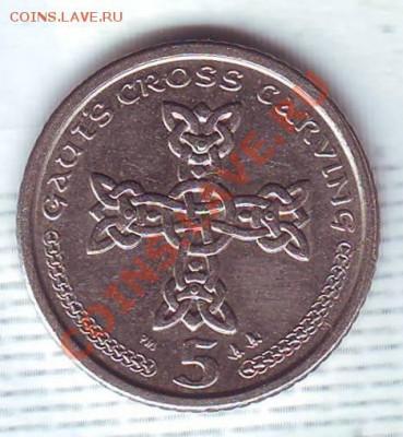 О.Мэн.5 Пенсов.2001.Кельтский крест. до 5 Октября - 20010025.JPG