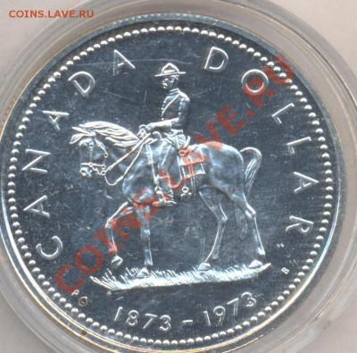 Канада 1 доллар 1973 г. 2.10.13 г. 22-00 МСК . - Канада доллар 1973 г.