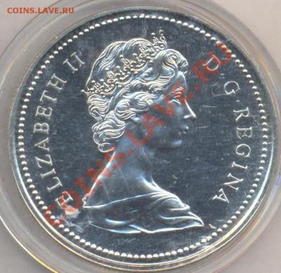 Канада 1 доллар 1973 г. 2.10.13 г. 22-00 МСК . - Канада доллар 1973 г.1