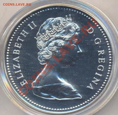 Канада 1 доллар 1976 г. 2.10.13 г. 22-00 МСК . - Канада доллар 1976 г.1