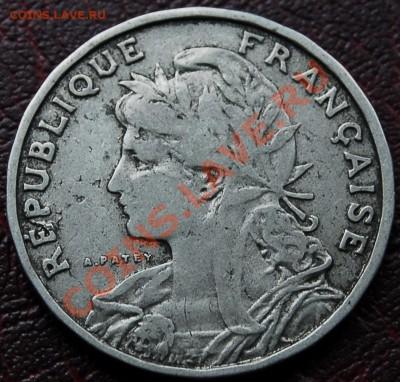 ФРАНЦИЯ - 25 сантимов 1904 - до 5 октября - 544