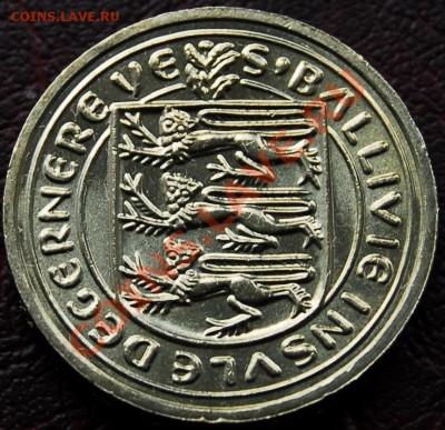 ГЕРНСИ - 1 фунт 1981 - Лилия - до 5 октября - 511