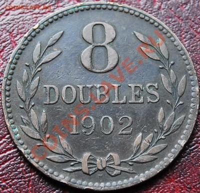 ГЕРНСИ - 8 дублей 1902 - до 5 октября - 539