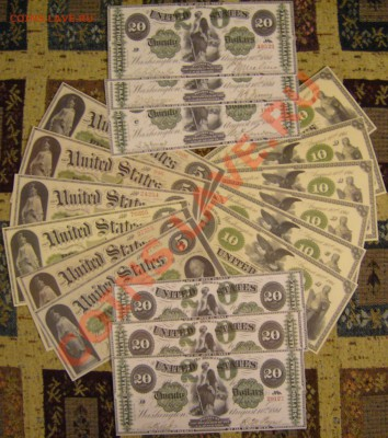 доллары США (набор 1861 г.) КОПИИ до 6.10. 22.00 мск - P1140112.JPG