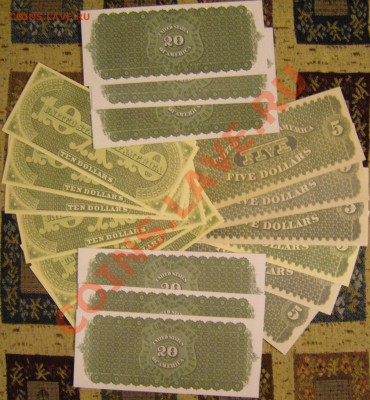 доллары США (набор 1861 г.) КОПИИ до 6.10. 22.00 мск - P1140113.JPG
