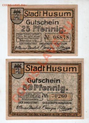 Германия, HUSUM, 25₰+50₰, до 4.10 @ 22:00 - banknote_0933