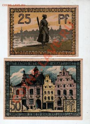 Германия, HUSUM, 25₰+50₰, до 4.10 @ 22:00 - banknote_0932