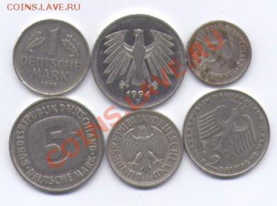 Нужны монеты ФРГ. доевровые. - скан1 233