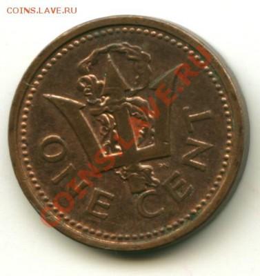 1 цент Барбадос  Год: 1998 до 04.10.2013 22-00мск - барбад
