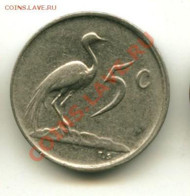 5  центов ЮАР  Год: 1983 до 04.10.2013 22-00мск - юар5бел