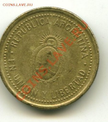 10 центавос Аргентина до 05.10.2013 22-00мск - арген..................