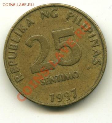25 сентимо Филипины до 05.10.2013 22-00мск - филип