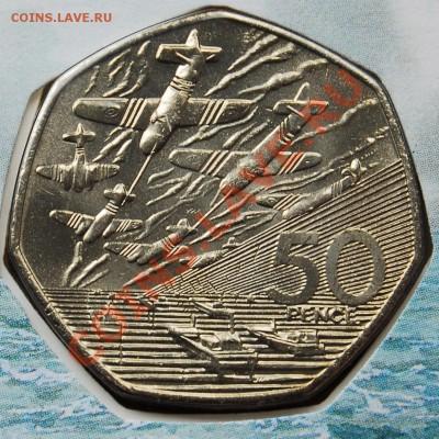 ВЕЛИКОБРИТАНИЯ - 50 пенсов 1994 - Нормандия - до 7 октября - 614