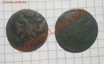 деньга 1731;40 - 1-2