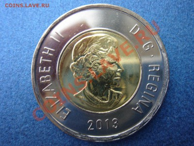 Канада: 2 доллара 2013 UNC из ролла до 07.10.13, 22-00 - Канада 2 доллара 2013-1.JPG