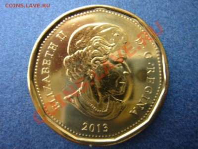 Канада: 1 доллар 2013 UNC из ролла до 07.10.13, 22-00 - Канада доллар 2013-1.JPG