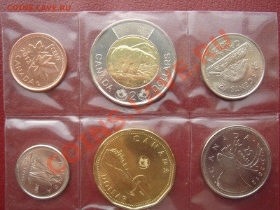 Канада: 6 монет 2012 UNC до 07.10.13 22-00 - Канада набор 2012-1.JPG