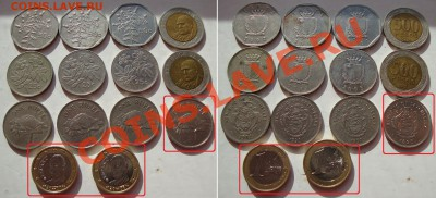 Октябрьская распродажа иностранных монет - 40rub-coins-00