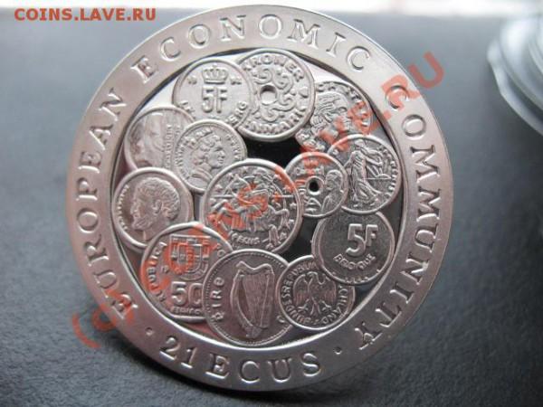 Монеты на монетах - Ag999, 500 Francs Бенин (Dahomey) - гибралтар мон а