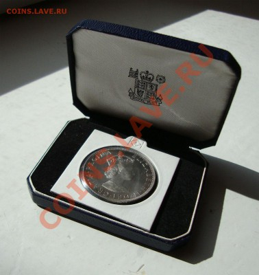 Октябрьская распродажа иностранных монет - bermuda-crown-01