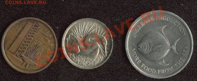 "Сингапур 2 монеты + ФАО ""Рыба-Луна"" до 22.00мск 07.12.13 - Сингапур 2"