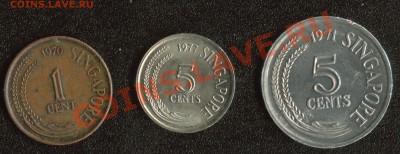 "Сингапур 2 монеты + ФАО ""Рыба-Луна"" до 22.00мск 07.12.13 - Сингапур 1"