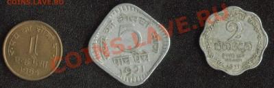 Индия и Шри Ланка 3 монеты до 22:00мск 07.12.13 - Индия+Шри Ланка 1