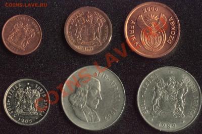 Южная Африка 6 монет до 22:00мск 07.12.13 - ЮАР 2