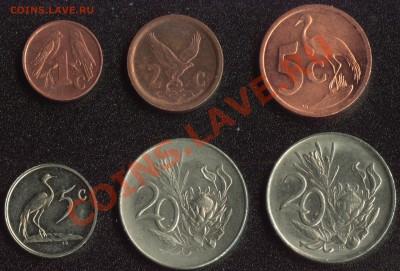 Южная Африка 6 монет до 22:00мск 07.12.13 - ЮАР 1