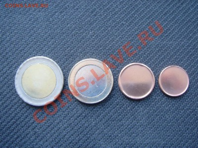Заготовка 1 евро цент - DSC02769.JPG