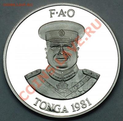 Тонга_2 паанги 1981. Редкое серебро. До 01.12_22.06мск - 6272