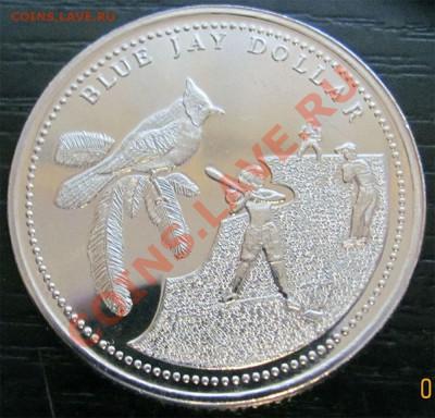 Y96 Канада торг. доллар Blue Jay PEI до 07.12 в 22°° - Y96 Trade Dollar Blue Jay PEI_1